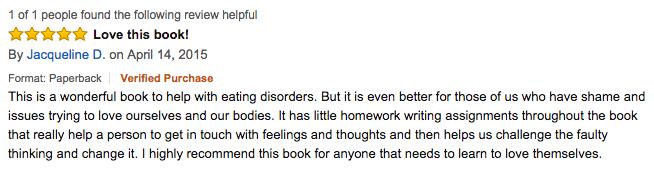 Jacqueline D SLD Amazon Review